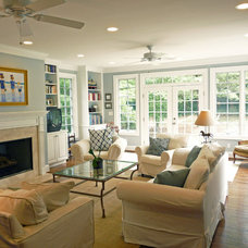 Traditional Family Room by Case Remodeling