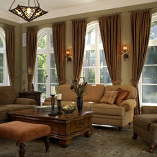 Traditional Family Room by Design Concepts/Interiors, LLC