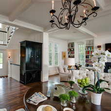 Traditional Family Room by Edward Postiff Interiors