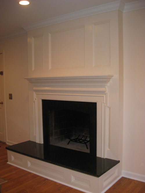 How To Cover Brick Fireplace With Wood Home Decor