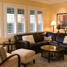 Traditional Family Room by Fiorella Design