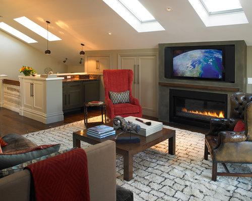 Best Bonus Room Layout Design Ideas Remodel Pictures Houzz