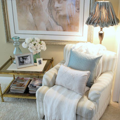 traditional family room by Centsational Girl