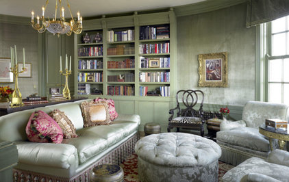traditional family room by Gibbons, Fortman & Associates, Ltd.