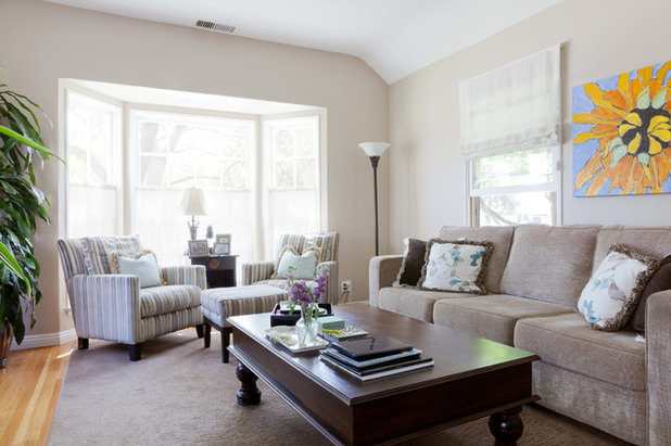 American Traditional Family Room Traditional Family Room