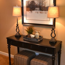 Traditional Family Room by Kelly Brasch Interiors