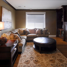 traditional family room by Lana Lounsbury Interiors