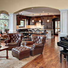 Traditional Family Room by Lecy Bros Homes & Remodeling