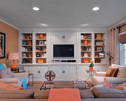 Tv Wall Units Shelves Home Design Ideas, Pictures, Remodel and Decor