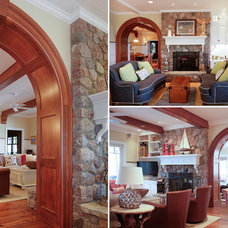 Traditional Family Room by Martin Bros. Contracting, Inc.