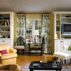 Traditional Family Room by Mitchell Construction Group