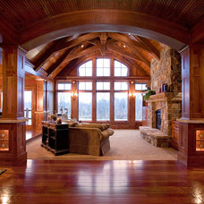 Traditional Family Room Traditional Family Room