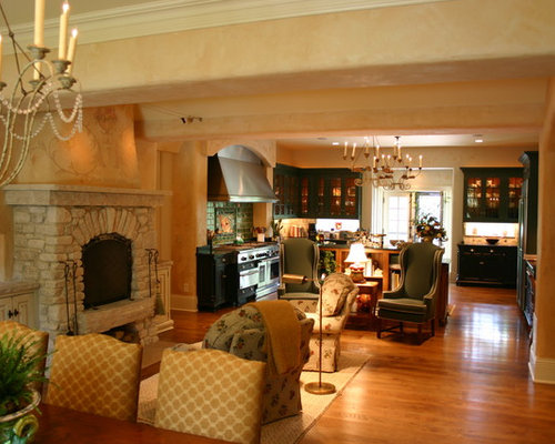 Hearth room houzz for Keeping room ideas