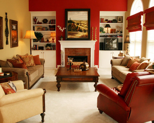 Red Paint Colors | Houzz