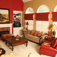 Traditional Family Room Traditional Family Room