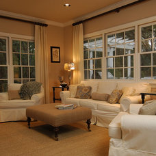 Traditional Family Room by Sandra Ericksen Design