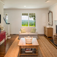 Traditional Family Room by Smithouse