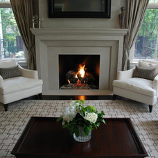 Traditional Family Room by The Fireplace Specialist