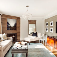 Traditional Family Room by Elizabeth Metcalfe Interiors & Design Inc.