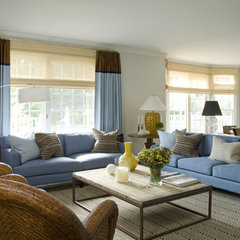 modern family room by Willey Design LLC