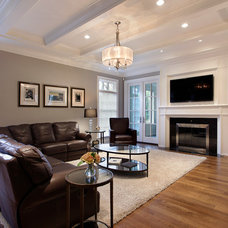 Traditional Family Room by Abruzzo Kitchen & Bath