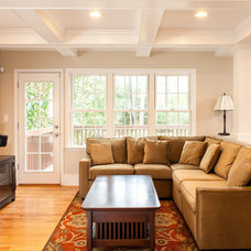 Traditional Family Room by Renewal Design-Build
