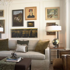 Traditional Family Room by Andrew Flesher Interiors