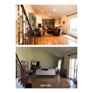 Transformed Family Room