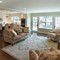 Traditional Family Room by Replacement Housing Services Consortium