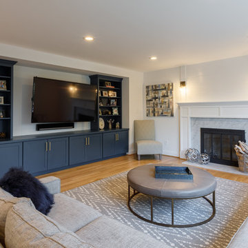 Transitional Colonial in Penn Valley, PA, Interior Renovation