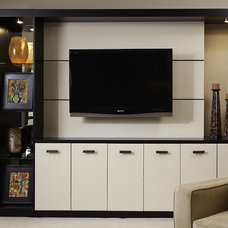 Modern Family Room by Interiors by Mary Susan