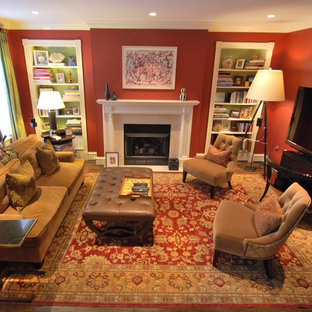 Transitional Family Room 2