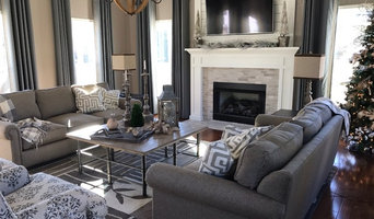 Transitional Family Room and Bedroom