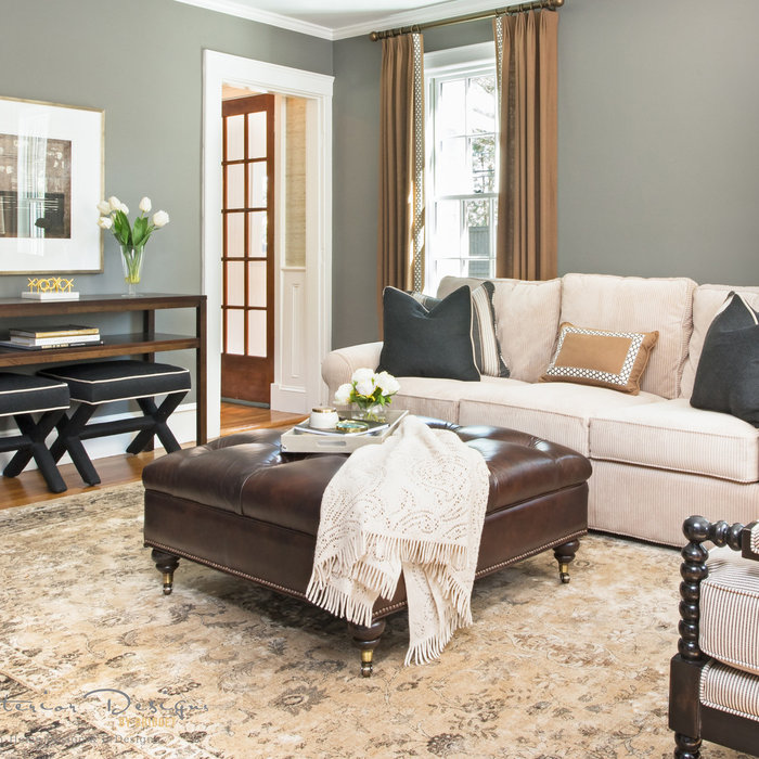 Dover Transitional Family Room