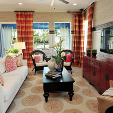 Family Room by Masterpiece Design Group