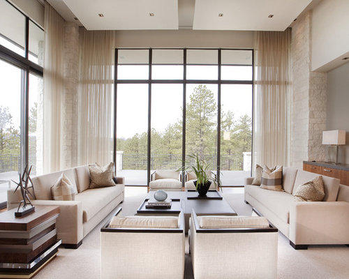 High ceiling window treatment houzz High ceiling window treatments