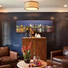 Contemporary Family Room by Reusch Interior Design