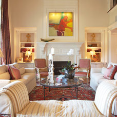 Family Room by Elizabeth Anne Star Interiors