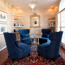 Traditional Family Room by Teri Interiors
