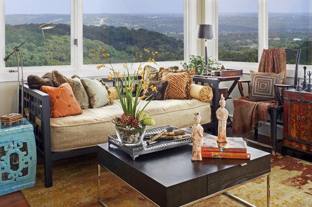 Asian Family Room By Dawn Hearn Interior Design