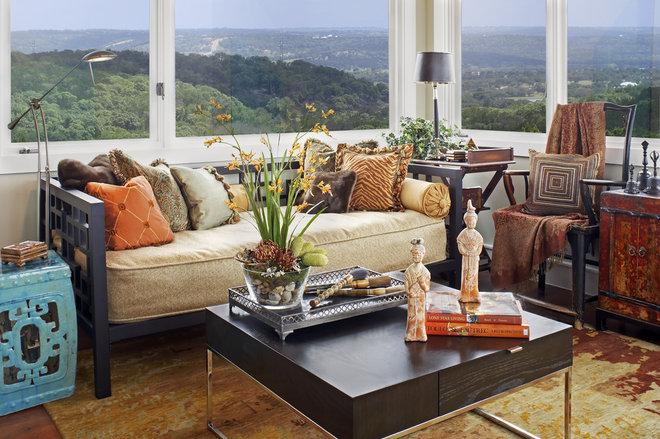Modern Family Room by Dawn Hearn Interior Design