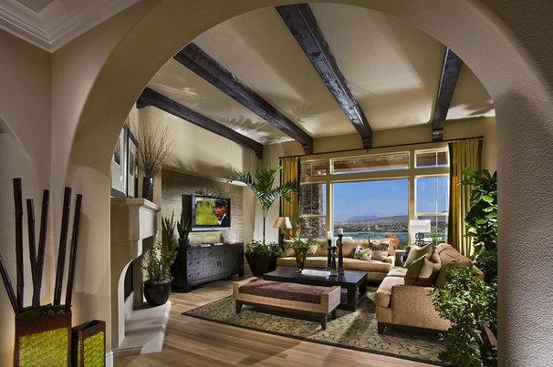 Contemporary Living Room by Studio V Interior Design