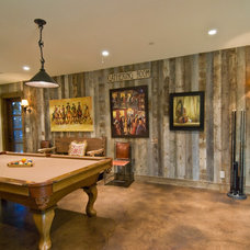 Eclectic Family Room by Trestlewood