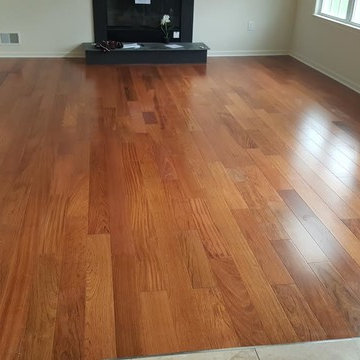 Triangulo Brazilian Cherry Hardwood Flooring, Monroe, NJ