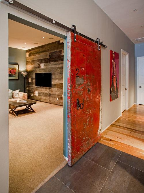 Sliding loft door home design ideas pictures remodel and for Barn loft doors