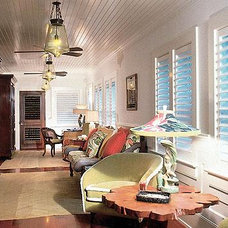 Tropical Family Room Trigg-Smith Architects - Project - An Island Estate
