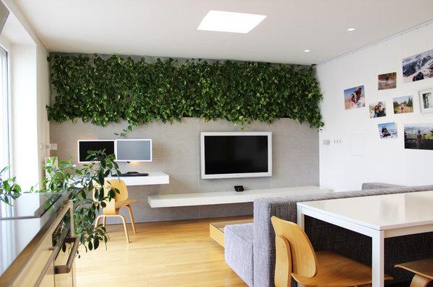 wohnzimmer gemtlich modern dekoration inspiration