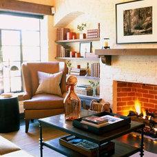Traditional Family Room by Scott Sanders LLC