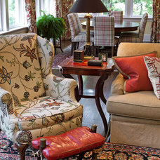 Traditional Family Room by Eberlein Design Consultants Ltd.
