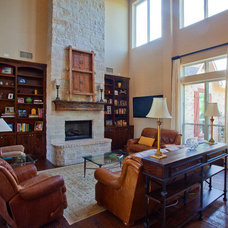 Traditional Family Room by Scarlett Custom Homes & Remodeling